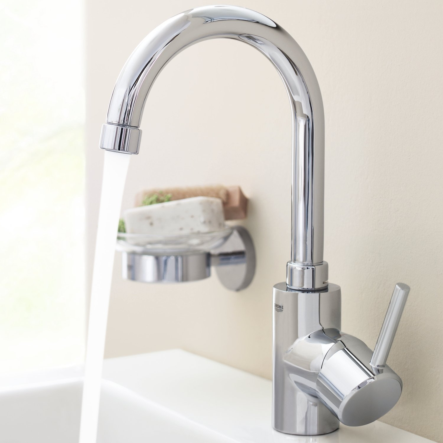 GROHE 32629001 | Concetto Bathroom Tap | Pop-Up Waste: Amazon.co ...