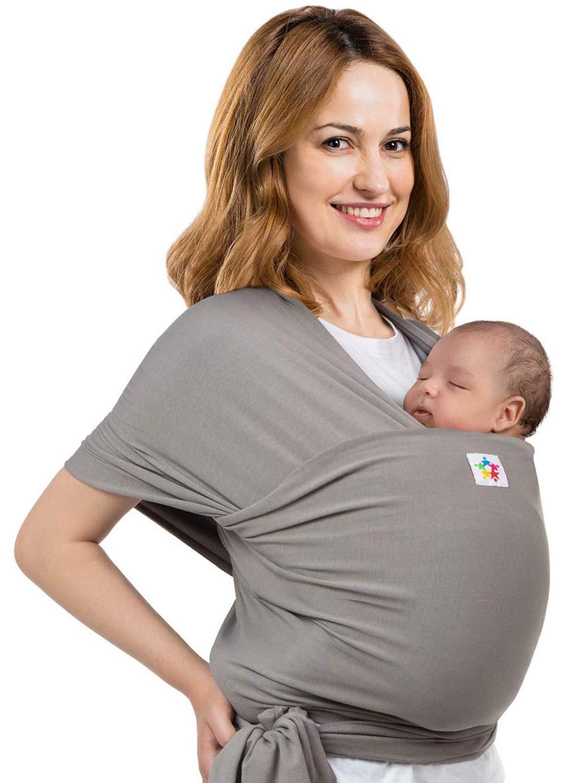HWZZ Baby Wrap Sling Newborn Sling Cuatro Estaciones Multifuncional Malla Transpirable Baby Sling Portadores de Lactancia para Viajes de beb/é,F