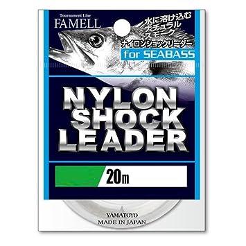 ヤマトヨテグス(YAMATOYO)ショックリーダーナイロンショックリーダーforシーバスナイロン20m5号20lbナチュラルスモークの画像