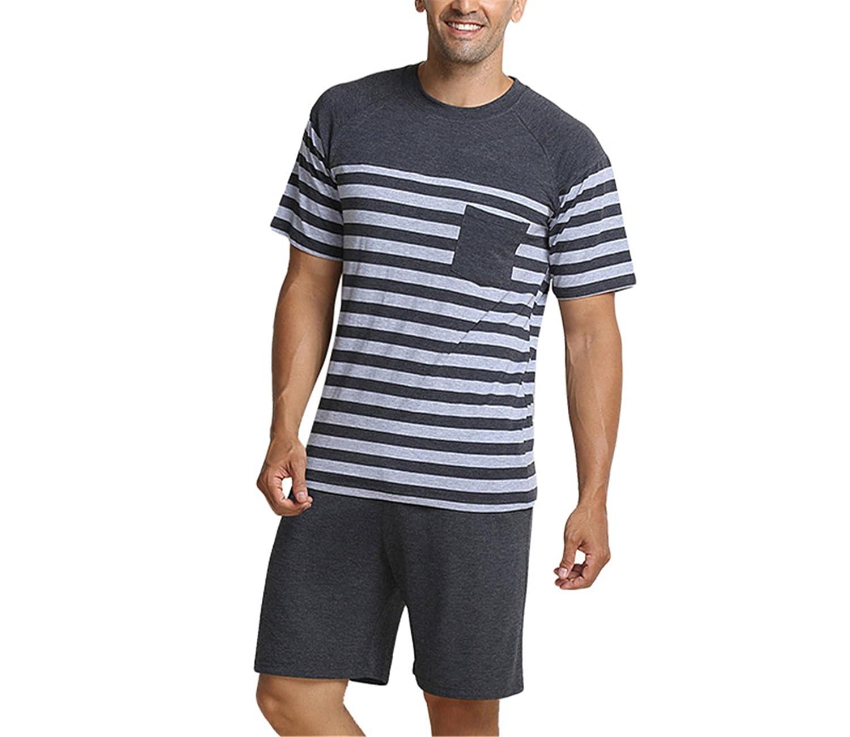 Wigeo Men Sleepwear Summer New Satin Pajama Pants Belt Elastic Men Tracksuit Couple Pajama Sets