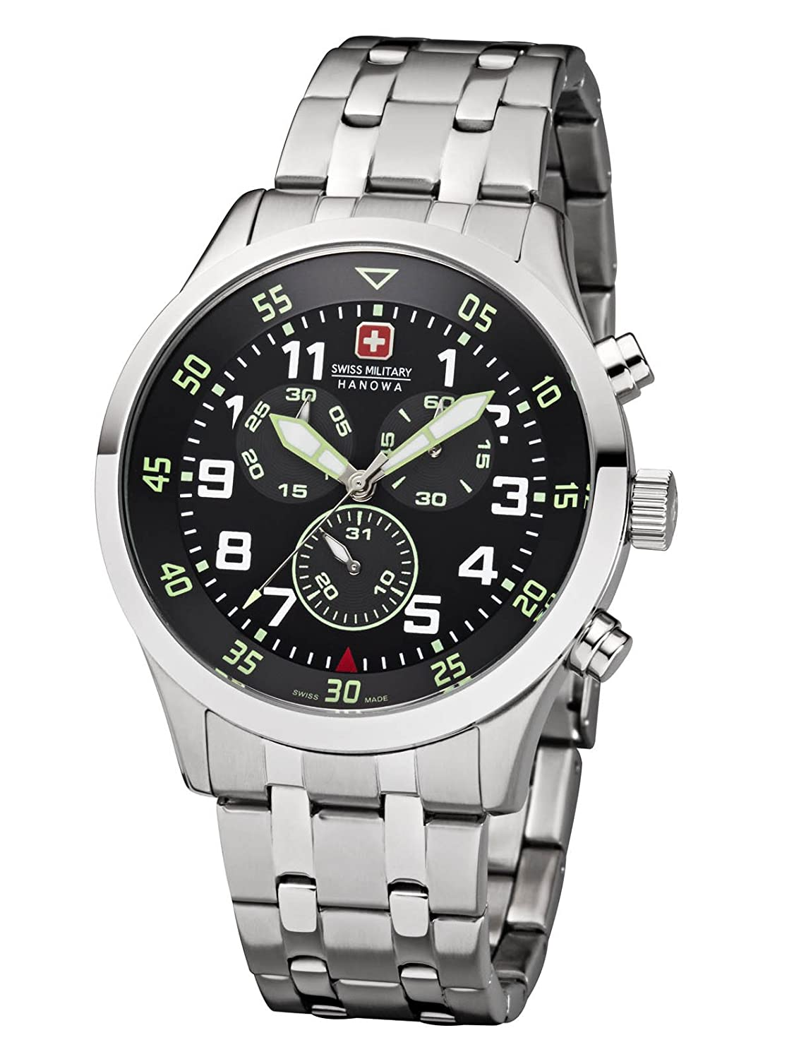 Swiss Military Hanowa New Legend Herrenuhr Chrono 06-5263.04.007.06