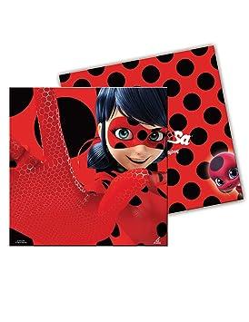 20 Servilletas 33x33 Ladybug
