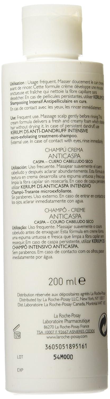 La Roche Posay Kerium Shampooing Creme Antipelliculaire Micro-Exfoliant - 200 ml