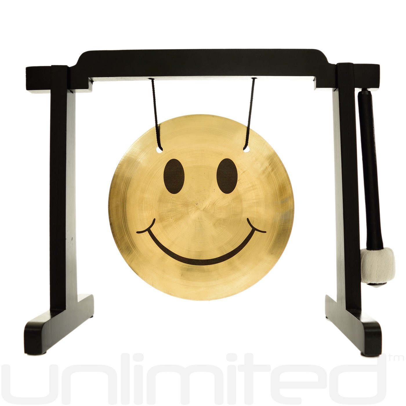 7'' Smiley Face Gong Stand Combos by Unlimited