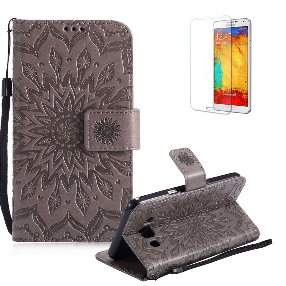 Funyye Strap Magnetic Flip Cover for Samsung Galaxy J7 2016,Premium Pink Embossed Sunflower Pattern Folio Wallet Case with Stand Credit Card Holder Slots Case for Samsung Galaxy J710,Shockproof Ultra Thin Slim Fit Full Body PU Leather Case for Samsung Gala