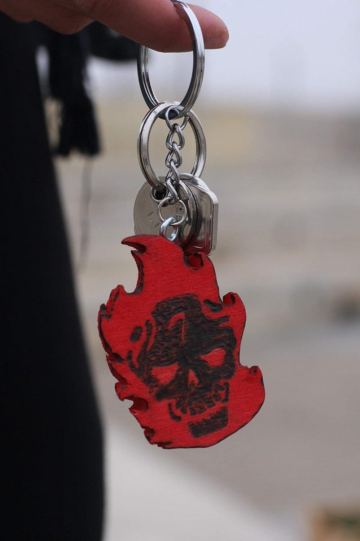 Llavero Diablo de Escuadrón suicida: Amazon.es: Handmade
