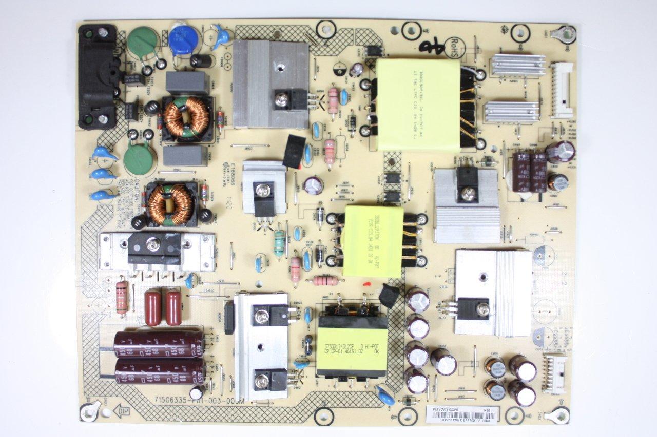 50 LC-50LB261U PLTVDV751XXPR Power Supply Board Unit