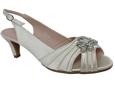 Satin Sandalette schwarz Größe: 42 Kaufen Online-Shop