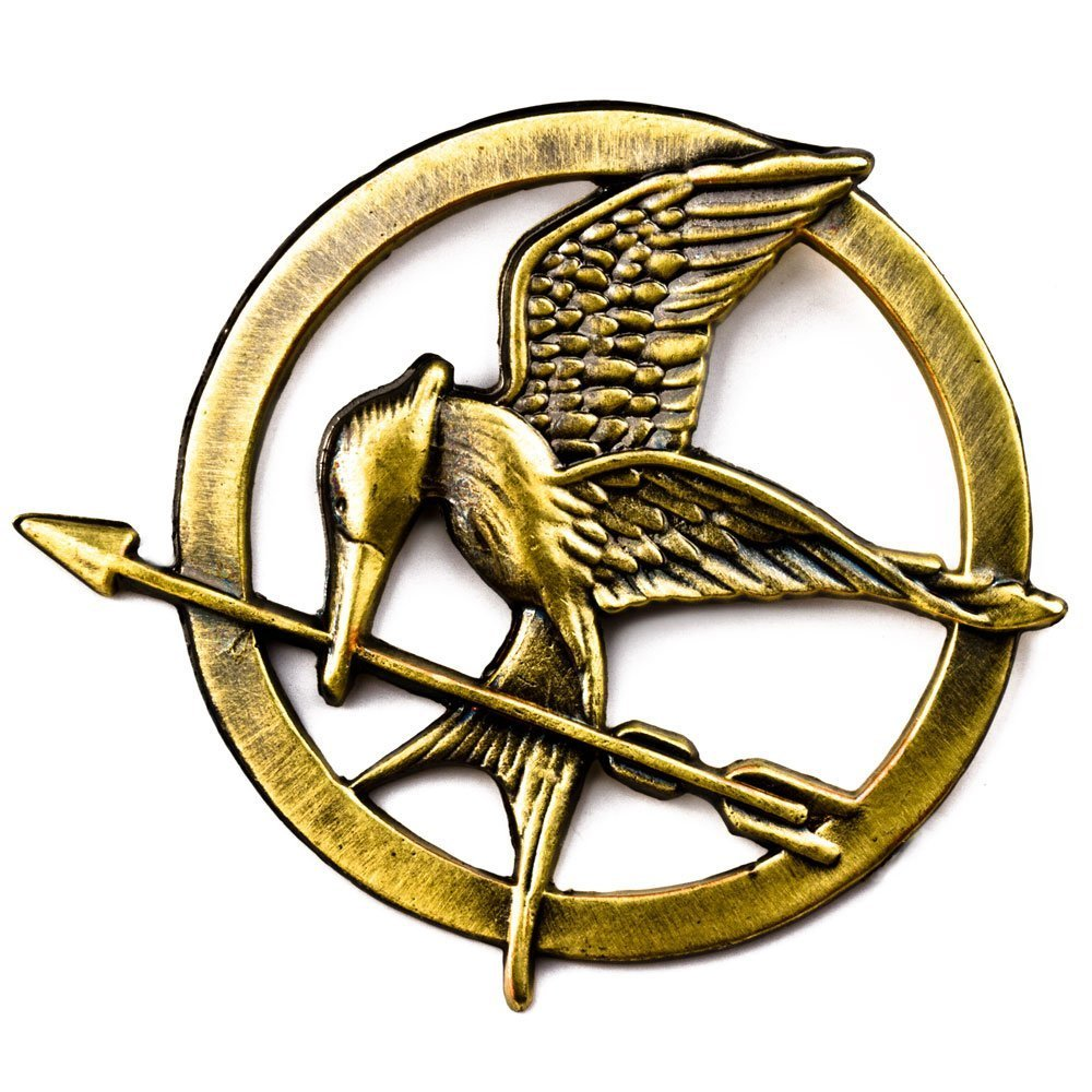 Symbols of the hunger games gallery symbols and meanings the hunger games mockingjay pin badge brooch catching fire the hunger games mockingjay pin badge brooch buycottarizona Gallery