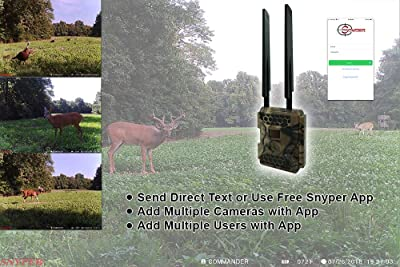 High Image Quality - Snyper Commander 4G LTE Trail Camera