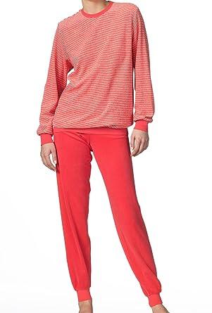the latest 60fc8 92bfb Calida Marina Frottee-Pyjama mit Bündchen Damen