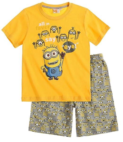 San Francisco oficial gran descuento Pijama corto para niño, diseño de Los Minions, color ...