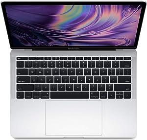 Apple MacBook Pro MPXQ2LL/A 13.3-inch Retina Display - Intel Core i7 2.5GHz, 16GB RAM, 512GB SSD - Silver (Renewed)