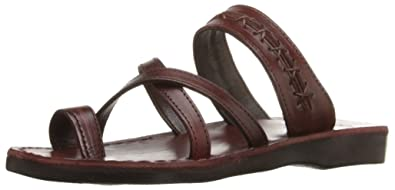 c351216e2f9d Jerusalem Sandals Women s Rachel Slide Sandal Brown 36 EU 5 ...