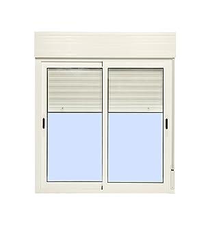 Fenêtre Aluminium Coulissante Avec Volet Roulant Pvc 1200 1355