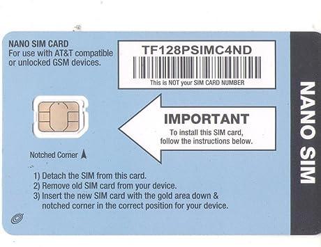 Amazon.com: Tarjeta SIM Straight Talk y activación de ...