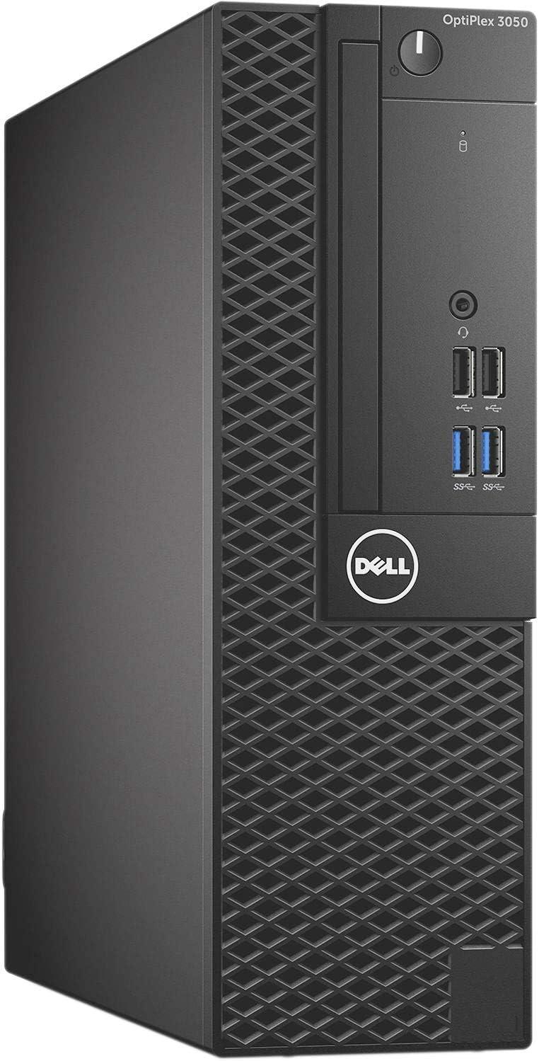 Dell Optiplex 3050 Small Form Desktop, Intel Quad Core i5 6500 3.2Ghz, 16GB DDR4, 256GB NVMe PCIe M.2 SSD, HDMI, DVD-RW, Windows 10 Pro (Renewed)