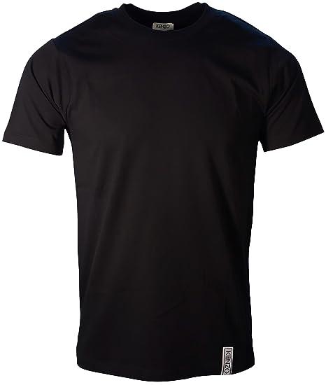 d882190d Kenzo T-Shirt Classic Logo Tab On Hem 5TS000 4AA: Amazon.co.uk: Clothing