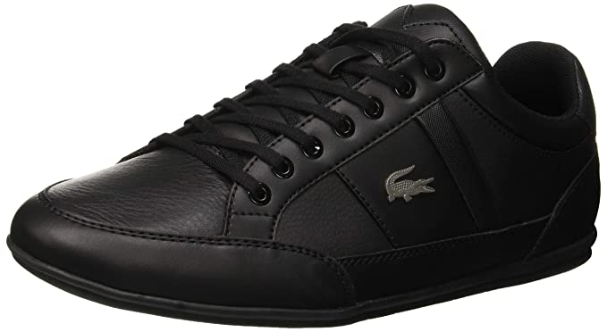 ccc20567b Amazon.com  Lacoste Men s Chaymon BL 1 CMA Leather Trainers