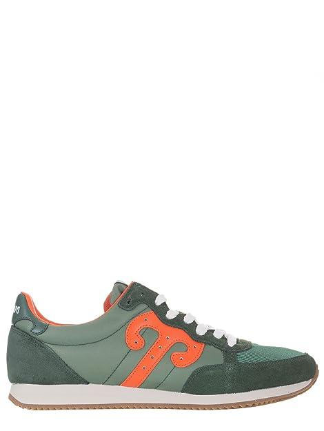 Wushu Ruyi - Zapatillas de Ante para Hombre Verde Verde: Amazon.es: Zapatos y complementos