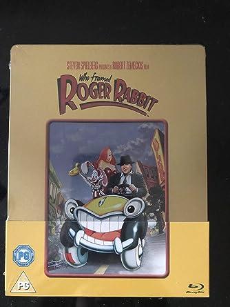 Falsches Spiel Mit Roger Rabbit Who Framed Roger Rabbit Exclusive Limited Anniversary Gold Edition Steelbook Import Mit Deutschem Ton Blu Ray Amazon De Dvd Blu Ray