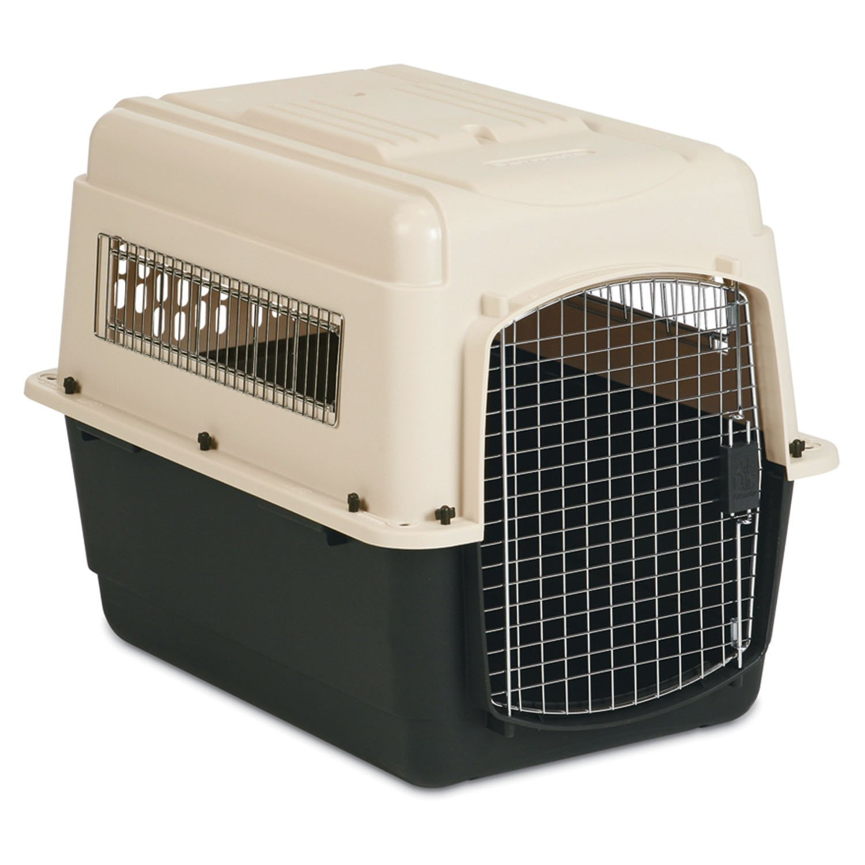 Petmate Ultra Vari Dog Kennel, 32'' L X 23 W X 24'' H, Large, Tan/Brown
