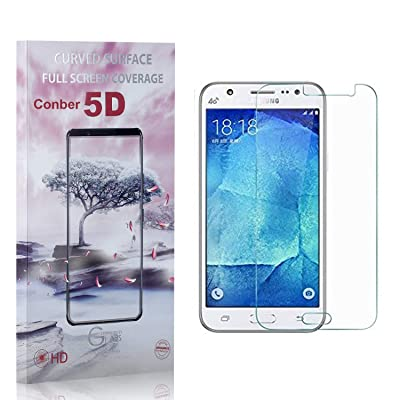 Conber (1 Pack) Screen Protector for Samsung Galaxy J5 2016, [Anti-Shatter][Scratch-Resistant][Case Friendly] Premium Tempered Glass Screen Protector for Samsung Galaxy J5 2016: Baby