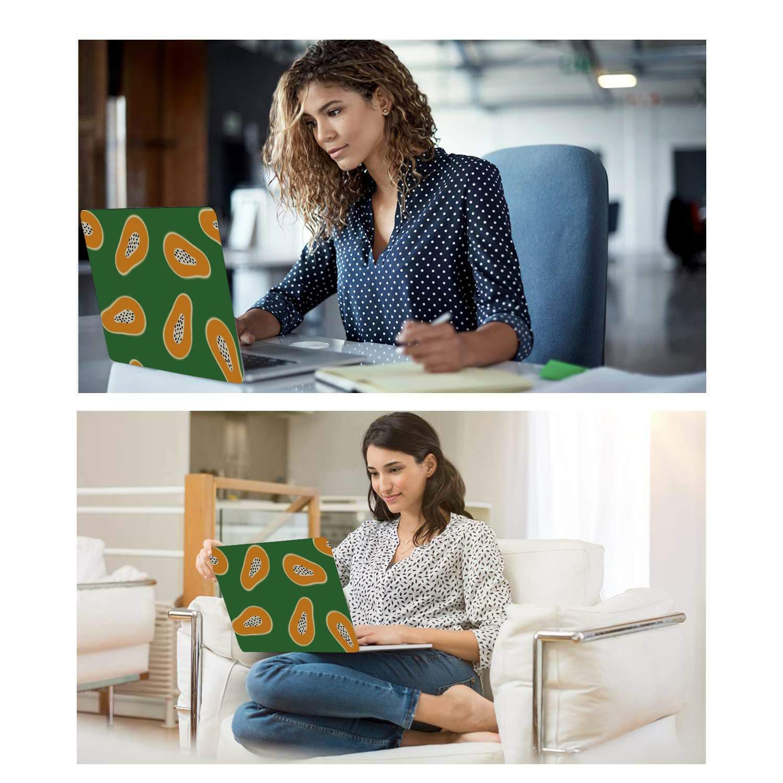 MacBook Air 1466 Case Summmer Cute Fashion Fruit Papaya Plastic Hard Shell Compatible Mac Air 11 Pro 13 15 MacBook 15 Case Protection for MacBook 2016-2019 Version