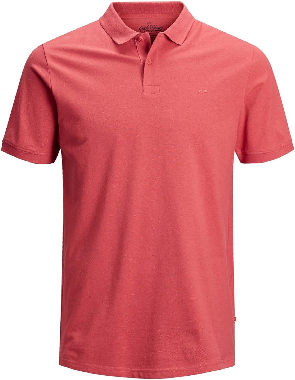 Jack /& Jones Jjebasic Polo SS Noos Camiseta para Hombre