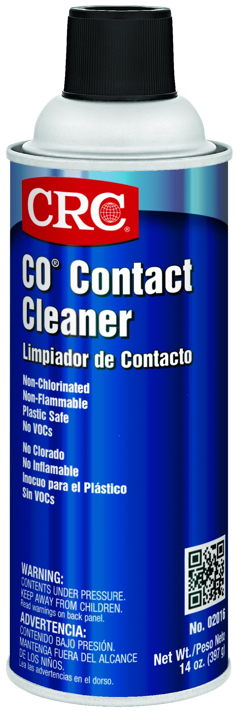 CRC CO Plastic Safe Liquid Contact Cleaner, 14 oz Aerosol Can by CRC