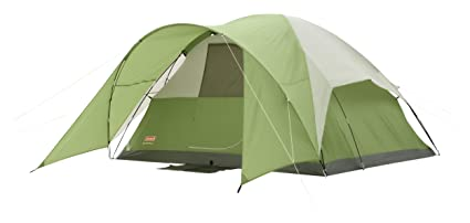 Coleman Evanston 6 TentGreen/White6-Person  sc 1 st  Amazon.com : coleman evanston 6 screened tent - afamca.org