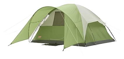 Coleman Evanston 6 TentGreen/White6-Person  sc 1 st  Amazon.com & Amazon.com : Coleman Evanston 6 Tent Green/White 6-Person : Sports ...