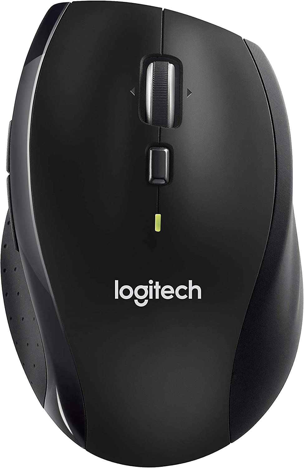 Logitech M705 Wireless Marathon Mouse for PC - Long 3 Year Battery Life, Ergonomic Shape with Hyper-Fast Scrolling and USB Unifying Receiver for Computer and Laptop - Black