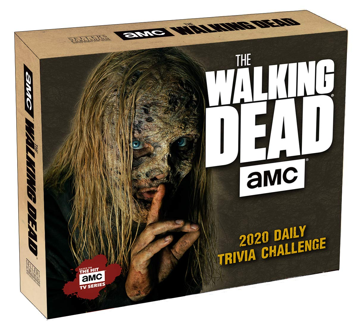 AMC The Walking Dead Daily Trivia Challenge 2020 Boxed Daily Calendar by SELLERS PUBLISHING, INC.