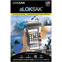LOKSAK aLOKSAK iPhone Drybag 3 x 6 inch, 2-Pack (aLOKD2-3x6)