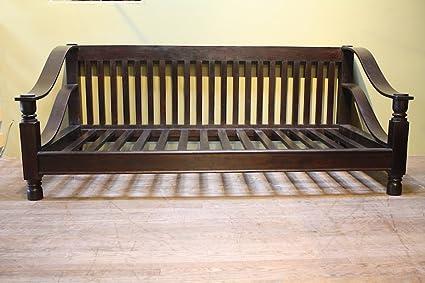 Superbe Indian Rosewood Plantation Sofa Double, 80x40u0026quot;