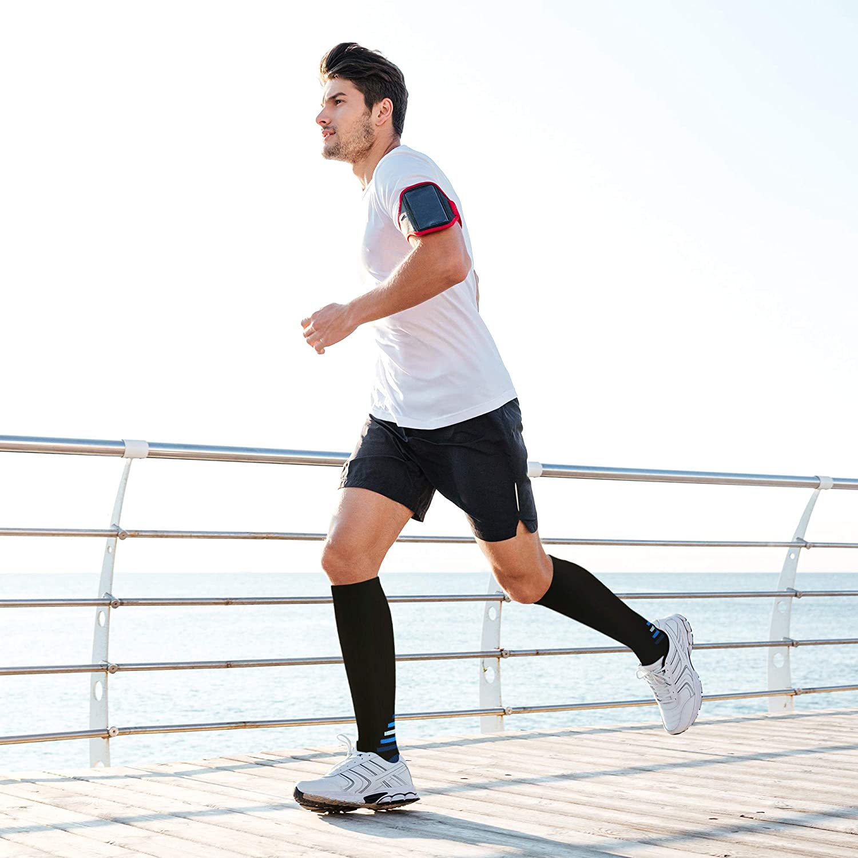 enfermeras estr/és tibial interior durante embarazo mejora la circulaci/ón sangu/ínea y la recuperaci/ón muscular para deporte Calcetines de compresi/ón para hombres y mujeres maratones