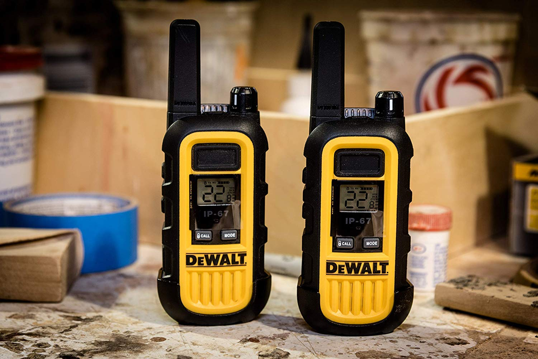DeWALT DXFRS300 1W Walkie Talkies Heavy Duty Business Two-Way Radios (Pair) by DEWALT (Image #14)