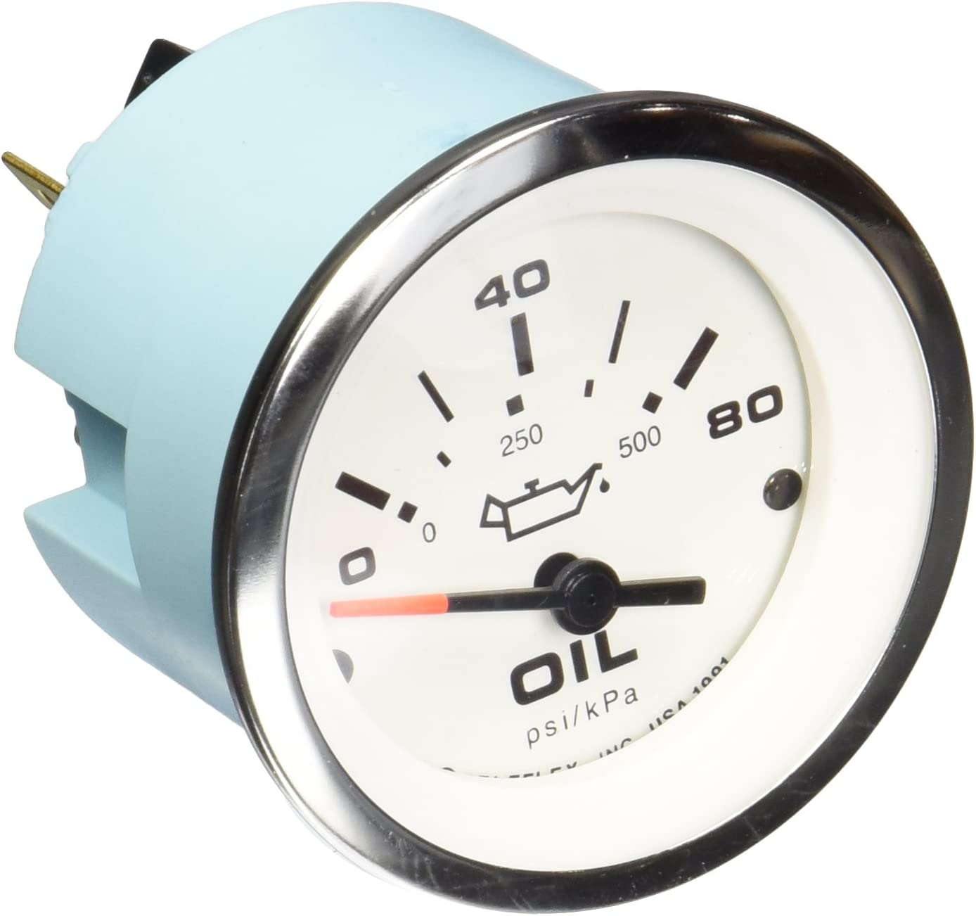 Sierra International 59653P Lido 80 PSI Fog Resistant Oil Pressure Gauge