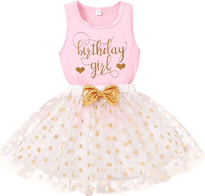 Dresses Kids Dress Skirt Summer Party Clothes Princess Baby Girls Toddler