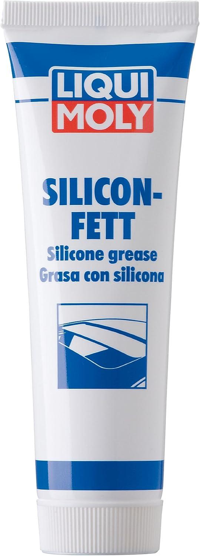 Liqui Moly 3312 - Grasa con silicona transparente, 100 gr