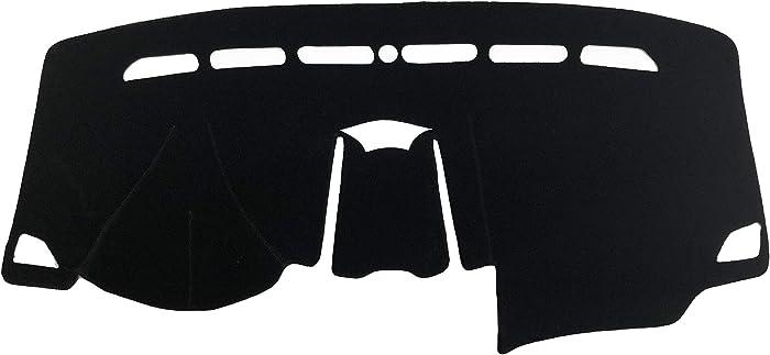 AutofitPro Custom Fit Dashboard Black Center Console Cover Dash Mat Protector Sunshield Cover for 2016 2017 2018 2019 2020 Ford Edge