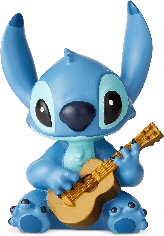 Disney 6002188 Stitch con la Guitarra, Resina, Multicolor, Talla única: Amazon.es: Hogar