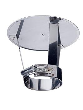 profiter du meilleur prix qualité-supérieure gamme de couleurs exceptionnelle Chapeau de cheminée pare pluie inox DN 150