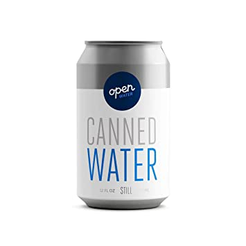 Still Canned Drinking Water in Aluminum Cans (4 cases of 12 16-oz cans, 48  cans total)
