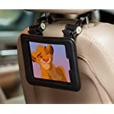 iPad Mini Case For Kids - iPad Mini Headrest Mount With Detachable Hanging Hooks - iLatch Mini Hangs Almost Anywhere To Keep Your iPad Mini Safely Out Of Reach - Quick Release Protective Tablet Case For Car Headrest Stroller Crib Kitchen Dorm Room Gym Anywhere You Want Hands-Free Access To Your iPad Black