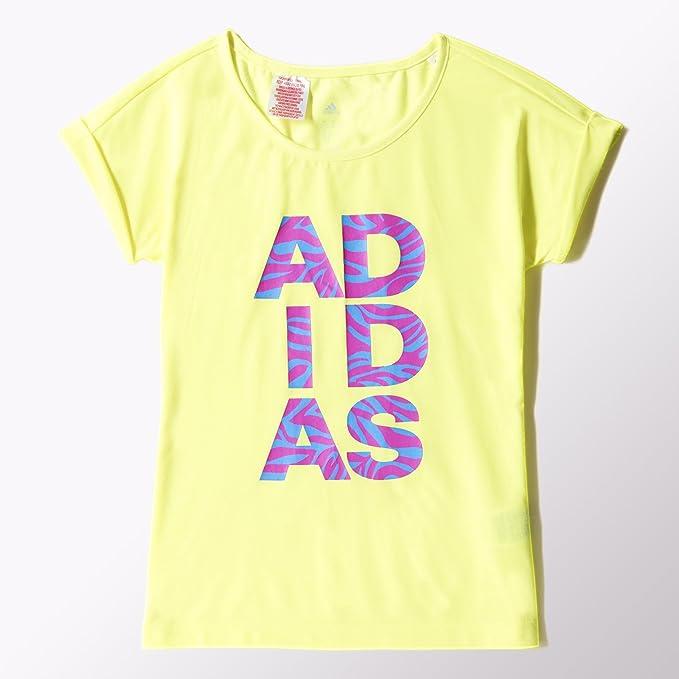 Adidas - Camisa Deportiva - para niña Helles Gelb