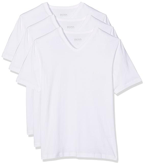 BOSS Hugo Boss 50325389, Camiseta Para Hombre, Pack de 3: Amazon.es: Ropa y accesorios