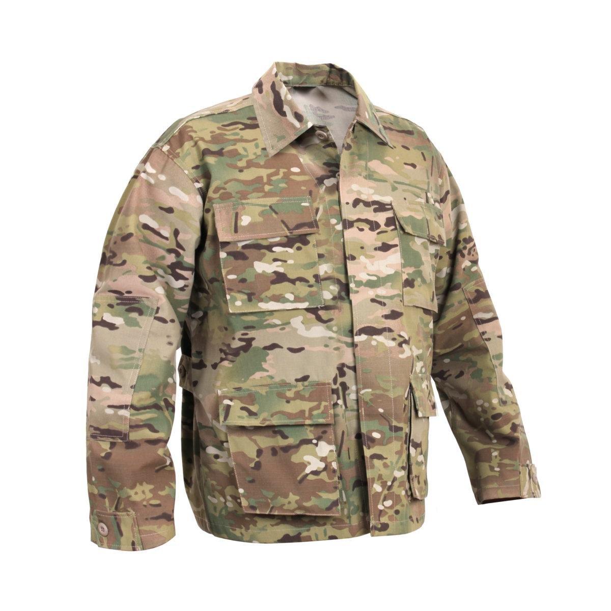 Rothco Camo BDU Shirt, Multicam, XX-Large 15330