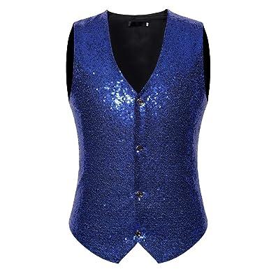 Xmiral Veste Costume Homme d extérieur Tenue Blazer Style Entreprises  Mariage (S e9320515170